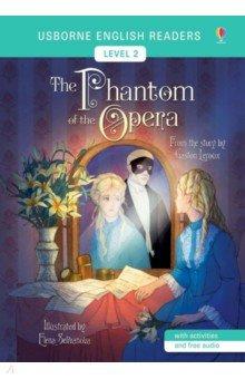 Купить The Phantom of the Opera, Usborne, Художественная литература для детей на англ.яз.