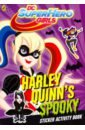 DC Super Hero Girls: Harley Quinn's Spooky Sticker my super sparkly sticker bag