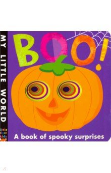 Купить Boo!: A book of spooky surprises (board book), Little Tiger Press, Первые книги малыша на английском языке