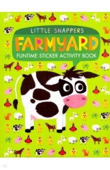 Купить Farmyard. Funtime Sticker Activity Book, Little Tiger Press, Первые книги малыша на английском языке