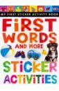 Rusling Annette First Words and More Sticker Activities 100 first farm words sticker activity book