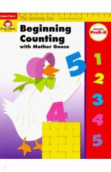 Купить Learning Line Workbook. Beginning Counting with Mother Goose, Grades PreK-K, Evan-Moor, Изучение иностранного языка