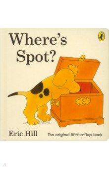 Купить Where's Spot? (board book), Penguin, Художественная литература для детей на англ.яз.