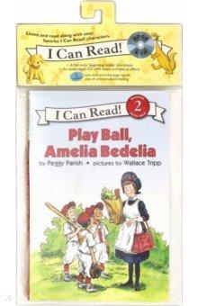 Купить Play Ball, Amelia Bedelia (Level 2) (+CD), Harper Collins USA, Художественная литература для детей на англ.яз.