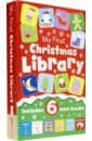 My First Little Christmas Library (6-mini book set) peter rabbit my first little library комплект из 4 книг миниатюрное издание