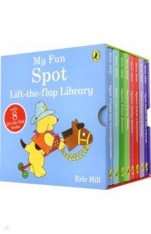 Купить Spot 8 Copy Board Book Slipcase, Ladybird, Книги для детского досуга на английском языке