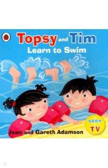 Купить Topsy and Tim: Learn to Swim, Ladybird, Художественная литература для детей на англ.яз.