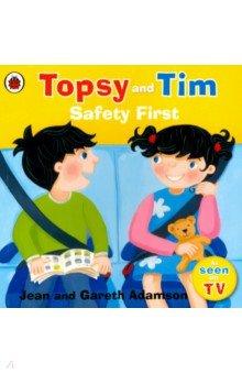 Topsy and Tim: Safety First, Ladybird, Художественная литература для детей на англ.яз.  - купить со скидкой