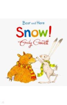 Купить Bear and Hare: Snow! (board bk), Mac Children Books, Первые книги малыша на английском языке