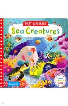 Купить Sea Creatures (board book), Mac Children Books, Первые книги малыша на английском языке