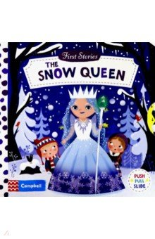 Купить The Snow Queen (board book), Mac Children Books, Первые книги малыша на английском языке
