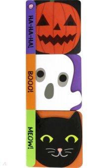 Купить Halloween Chunky Set (3 mini board books), Priddy Books, Первые книги малыша на английском языке