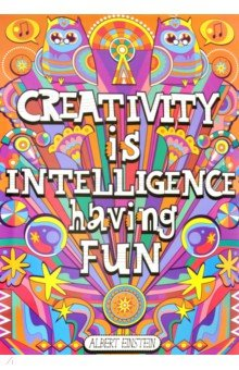 Creativity Is Intelligence Having Fun. POP! Chart