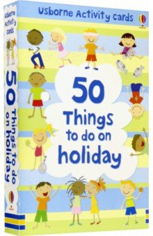 Купить 50 Things to Do on Holiday, Usborne, Книги для детского досуга на английском языке