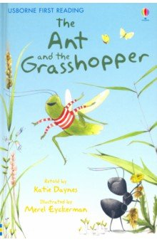 Купить Ant and the Grasshopper, Usborne, Художественная литература для детей на англ.яз.