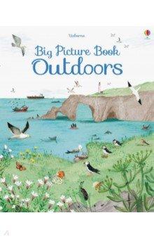 Big Picture Book. Outdoors, Usborne, Художественная литература для детей на англ.яз.  - купить со скидкой