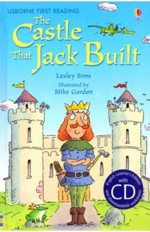 Купить Castle That Jack Built (+CD), Usborne, Художественная литература для детей на англ.яз.