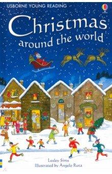 Купить Christmas Around the World, Usborne, Художественная литература для детей на англ.яз.