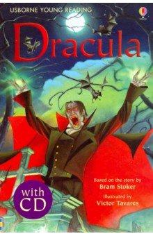 Купить Dracula (+CD), Usborne, Художественная литература для детей на англ.яз.