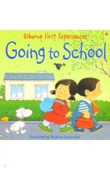 Купить Going to School, Usborne, Книги для детского досуга на английском языке