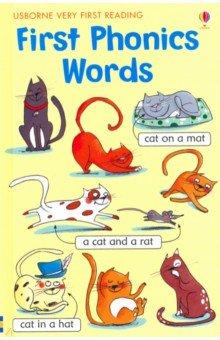 Купить First Phonics Words, Usborne, Книги для детского досуга на английском языке