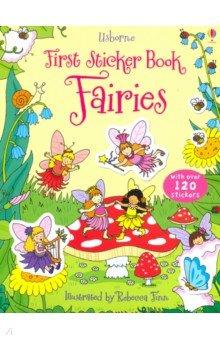 Купить First Sticker Book: Fairies, Usborne, Книги для детского досуга на английском языке