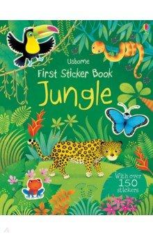 Купить First Sticker Book. Jungle, Usborne, Книги для детского досуга на английском языке