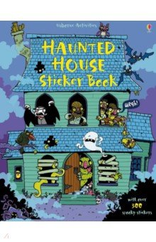 Купить Haunted House Sticker Book, Usborne, Книги для детского досуга на английском языке