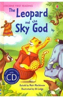 Купить Leopard and the Sky God (+CD), Usborne, Художественная литература для детей на англ.яз.