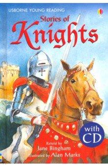 Купить Stories of Knights (+CD), Usborne, Художественная литература для детей на англ.яз.