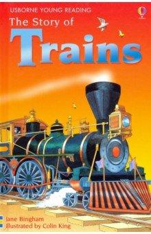 Купить Story of Trains, Usborne, Художественная литература для детей на англ.яз.