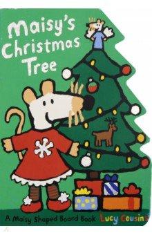 Купить Maisy's Christmas Tree (board book), Walker Books, Художественная литература для детей на англ.яз.