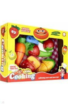 Купить 3779 Набор пластиковых фруктов, ягод и овощей, Дрофа Медиа, Другие игрушки для малышей