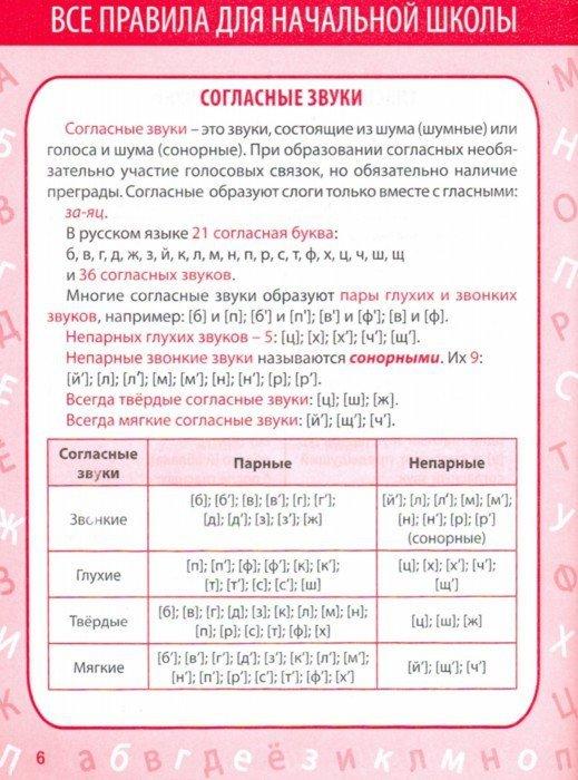 Иллюстрация 1 из 12 для Русский язык. 1-4 класс. Все правила в таблицах и схемах - Е. Жуковина   Лабиринт - книги. Источник: Лабиринт