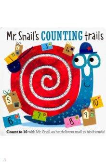 Купить Mr Snail's Counting Trails, Make Believe Ideas, Первые книги малыша на английском языке