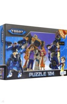 Купить Тоботы. Пазл-104 Любимые герои (04335), Оригами, Пазлы (100-170 элементов)