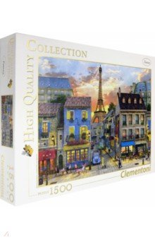 Купить Пазл-1500 Улочки Парижа (31679), Clementoni, Пазлы (1500 элементов)