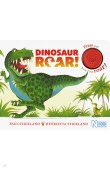 Купить Dinosaur Roar! Single Sound Board Book, Mac Children Books, Первые книги малыша на английском языке
