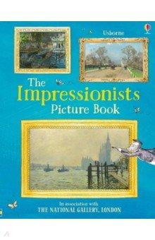 Купить Impressionists Picture Book, Usborne, Книги для детского досуга на английском языке