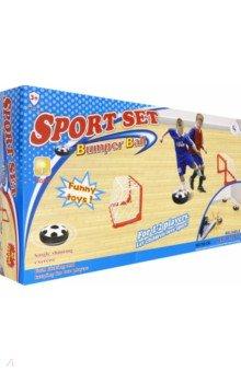 Купить Игра напольная Футбол (ворота 2 шт., диск-мяч) (789-19D), Junfa, Игры для активного отдыха