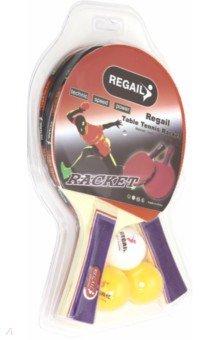 Купить Пинг-понг: 2 ракетки, 3 шара (6678Z), Junfa, Игры для активного отдыха