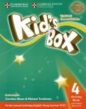 Kid's Box. Level 4. Activity Book with Online Resources