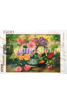 "Step Puzzle-1500 ""Цветы в вазе"" (83019)"