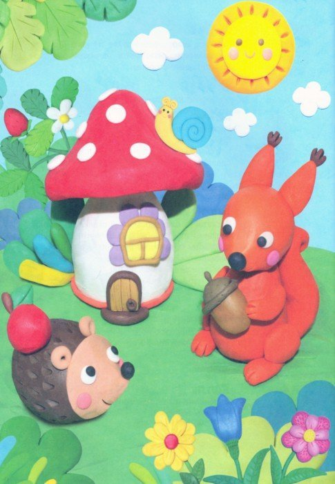 Иллюстрация 1 из 5 для Лепим из пластилина. Выпуск 2 - Бахурова, Московка | Лабиринт - книги. Источник: Лабиринт