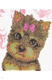 Купить Алмазная мозаика с мольбертом Милый щенок (21х25 см) (M-10340), MAZARI, Аппликации