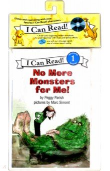 Купить No More Monsters for Me! +D (Level 1), Harper Collins USA, Художественная литература для детей на англ.яз.