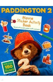 Купить Paddington 2: Sticker Activity Book: Movie tie-in, Harpercollins, Книги для детского досуга на английском языке