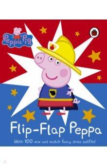 Купить Peppa Pig: Flip-Flap Peppa (board book), Ladybird, Первые книги малыша на английском языке