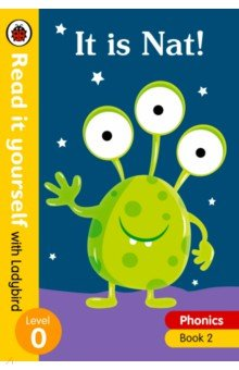 Купить Phonics 2: It is Nat!, Ladybird, Художественная литература для детей на англ.яз.