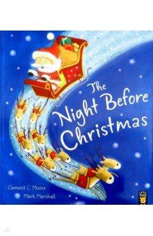 Купить The Night Before Christmas, Little Tiger Press, Художественная литература для детей на англ.яз.